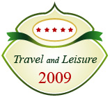 the 5th best travel city in the world by Travel and Leisure 2009